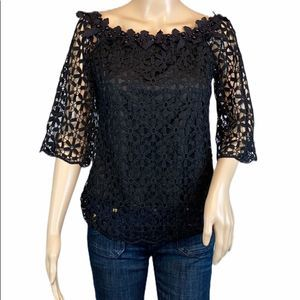 Tops - NEW Black Lace Blouse Various Sizes